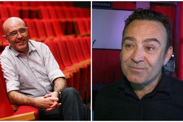 Franck Becker (directeur de la Coursive) - David Fourrier (directeur de La Sirène) - La Rochelle