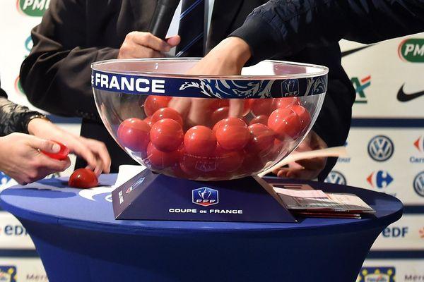 Tirage au sort du 7e tour de la Coupe de France de football.