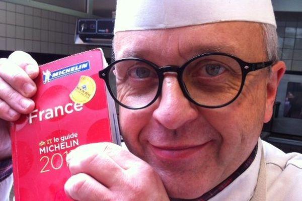 Pierre Chrétien a son étoile au guide Michelin depuis 1992.