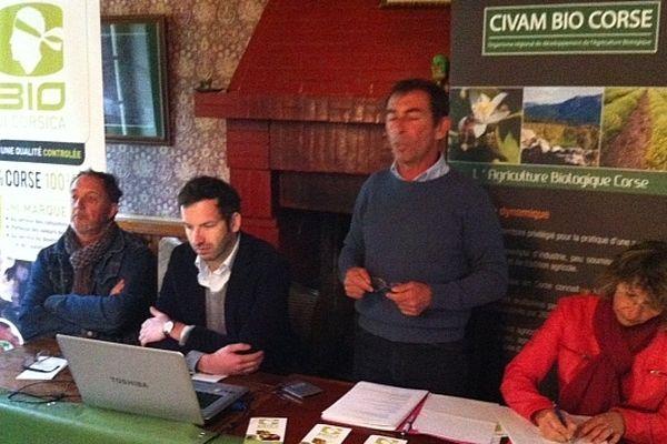 """""""Bio di Corsica"""": les producteurs biologiques corses lancent une marque collective à l'occasion de leur assemblée générale, le mardi 21 mai à Vizzavona (Haute-Corse)"""