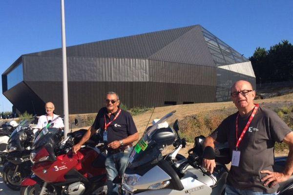 Les motards de France 3 Poitou-Charentes et France Bleu Poitou vous ont fait vivre la course pendant 4 jours
