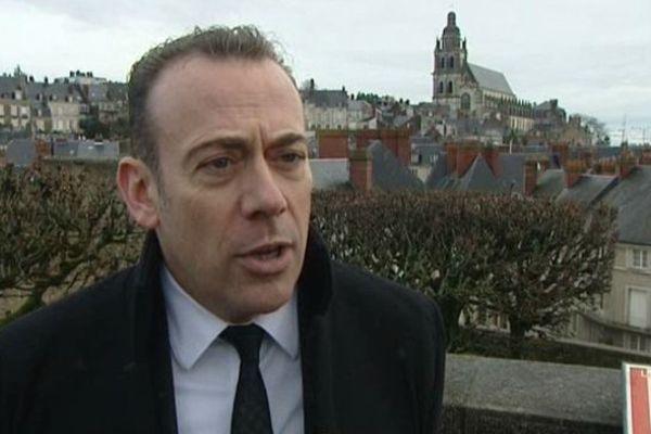Marc Gricourt, maire PS sortant, candidat pour un 2e mandat à Blois.