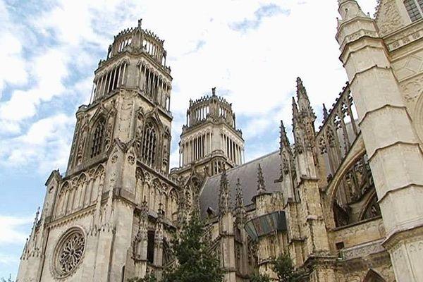 La cathédrale d'Orléans (Loiret)