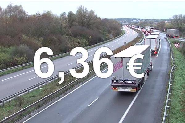 De 24 centimes à 6 euros 36, voilà ce que pourrait coûter chaque jour l'utilisation de l'A31bis