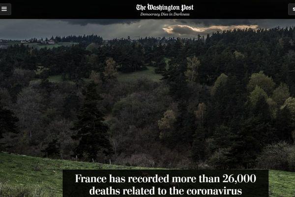 Le grand format du Washington Post de mai 2020 consacré à la Lozère au temps du confinement
