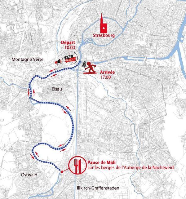Samedi 1er septembre 2018: remontée du barrage Vauban à la Nacht weid