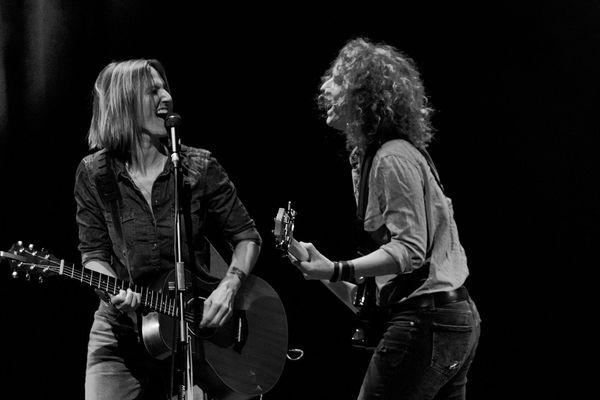 Claire et Skye, du groupe Pur-Sang, sont musiciennes professionnelles depuis plus de quinze ans.