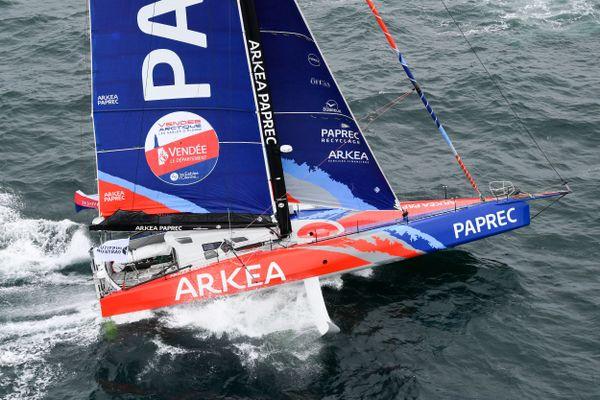 Arkea Paprec aura de nouveau foils pour le Vendée Globe 2020, reste à Sébastien Simon à se qualifier