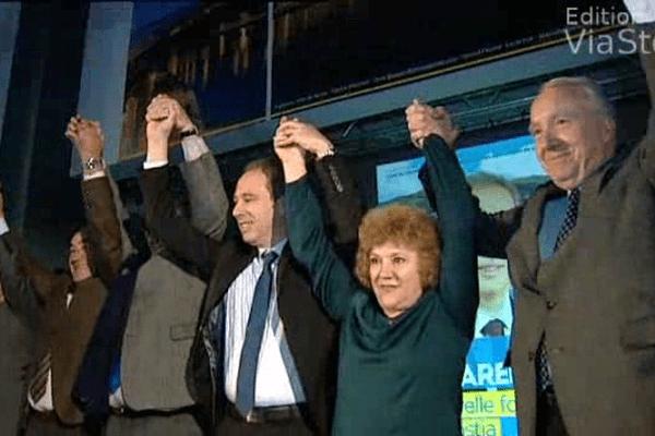 05/12/13 - Premier meeting de campagne pour Jean Zuccarelli, candidat à la mairie de Bastia