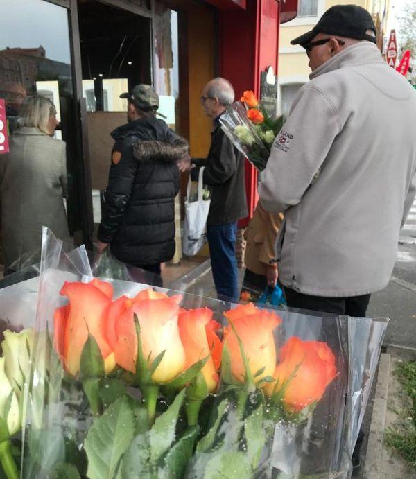 Sète - des fleurs pour patienter... - 17 mars 220.