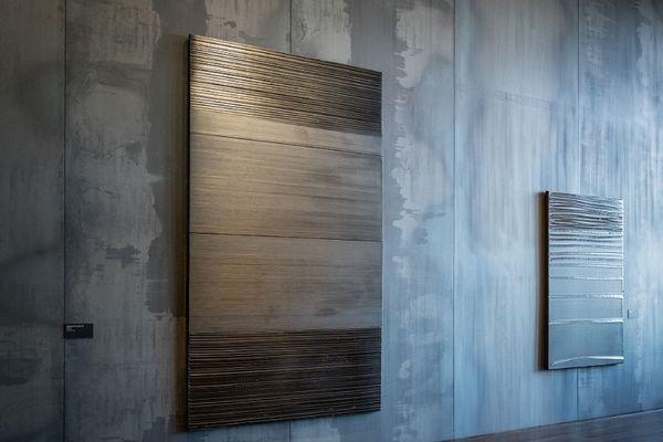 Cette oeuvre de 1997 a été donnée au musée Soulages de Rodez par un ami du peintre, le galeriste Karsten Greve.