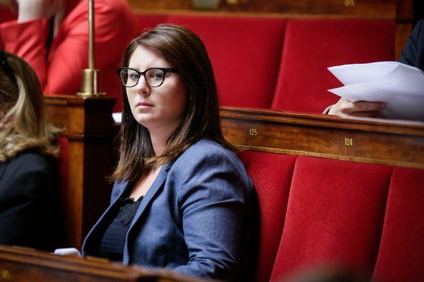 Marine Brenier, députée de la 5e circonscription des Alpes-Maritimes. Image d'illustration.