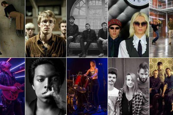 10 groupes et artistes pour la dernière série d'auditions à Arras du tremplin régional du Main Square.