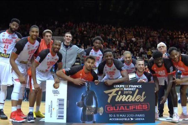 Face à Levallois, le MSB s'est qualifié pour la finale de la Coupe de France.