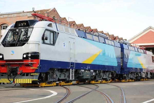 La locomotive KZ8A conçue par Alstom Belfort