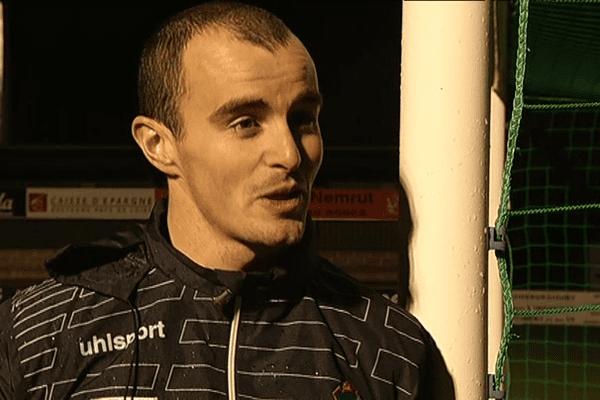 Ivan Seznec, gardien de but de Concarneau