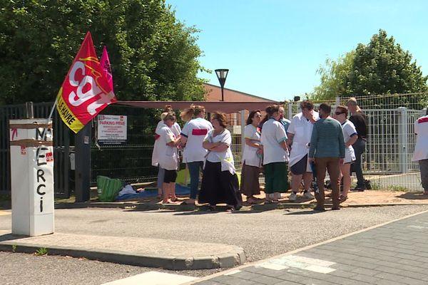 13 juillet 2020 – Le Havre : grève à la clinique Océane