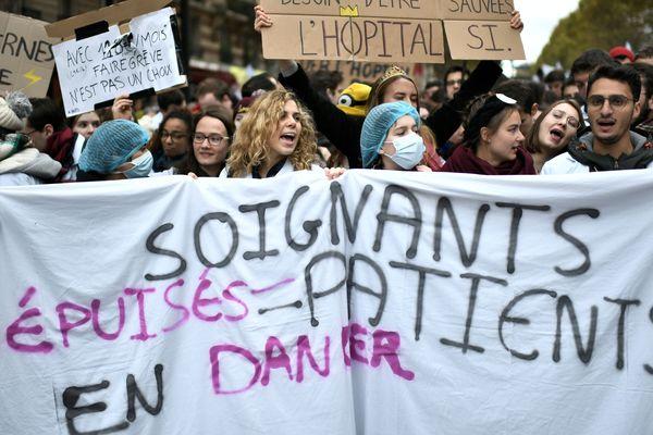 Une nouvelle mobilisation du personnel soignant est attendue le 5 décembre