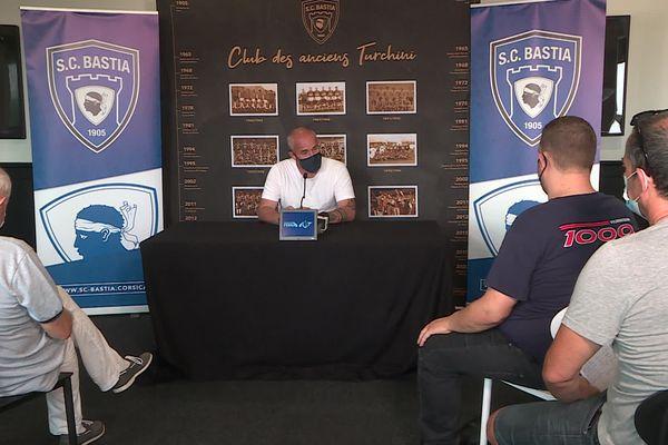 Le club tenait une conférence de presse, ce jeudi 22 juillet.