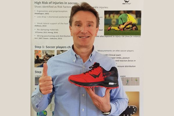 Jean-Luc Guer, créateur de la chaussure WizWedge