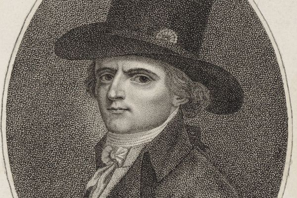 Gracchus Babeuf à 34 ans, dessiné par François Bonneville.