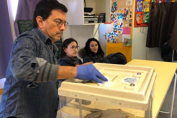 Bureau de vote de Saint-Barnabé, Marseille XII