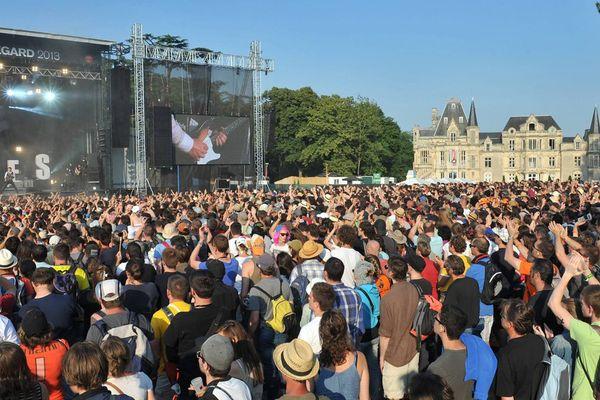 Le festival Beauregard, à Hérouville-Saint-Clair, en 2013