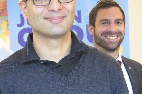 Kamel Agag-Boudjahlat avec Julien Odoul
