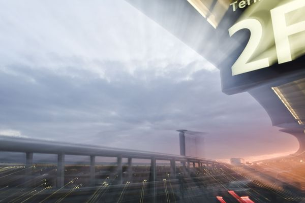 Le terminal 2F de l'aéroport de Roissy.