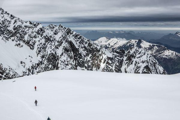 Ascension du Mont Blanc par la voie normale jusqu'au refuge de Tête Rousse