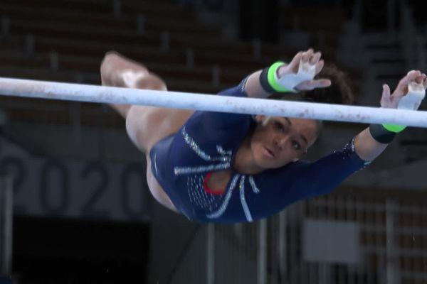 La stéphanoise Mélanie de Jesus dos Santos n'a pas réussi a décrocher une médaille pour ses premières olympiades.