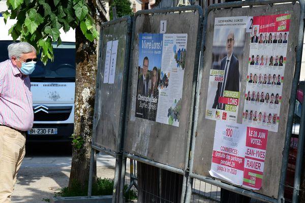 Le second tour des muncipales 2020  à Lons le Saunier (Jura)