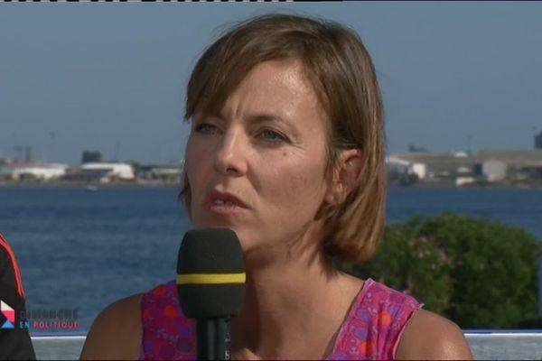 Valérie Derolez, Ingénieur Ifremer spécialisée dans les milieux lagunaires