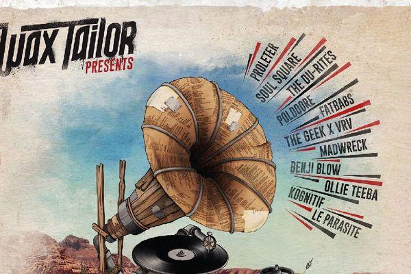 Wax Taylor est le premier artiste à graver sa musique sur ces vinyles connectés.