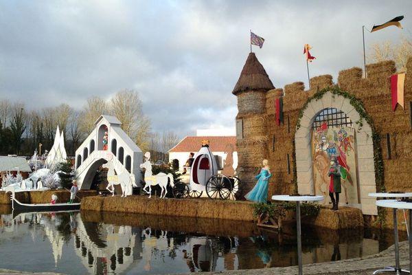 Le carrosse de Cendrillon à Argenteuil-sur-Armançon dans l'Yonne