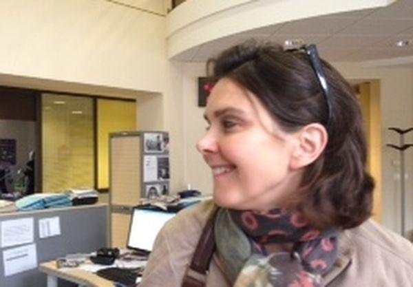 Isabelle Brunnarius est journaliste à France3 Franche-Comté