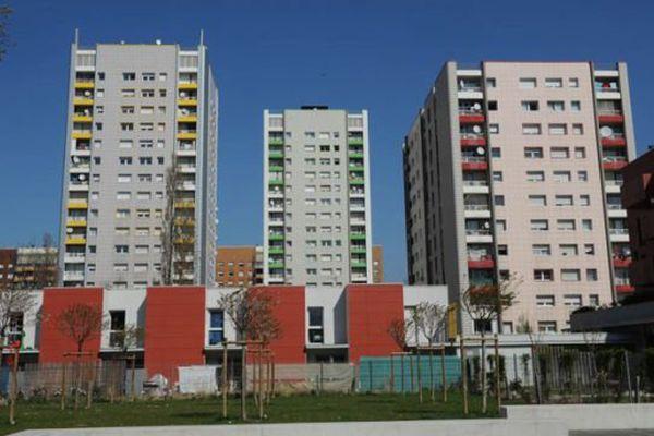Quartier Mistral de Grenoble
