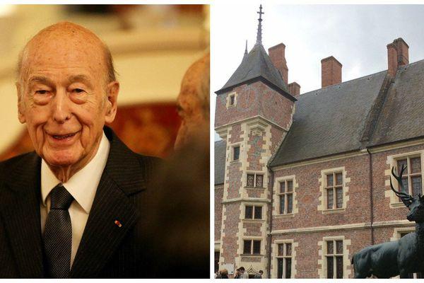 L'ancien président de la République était ce samedi 24 juin au musée de la chasse de Gien (Loiret).