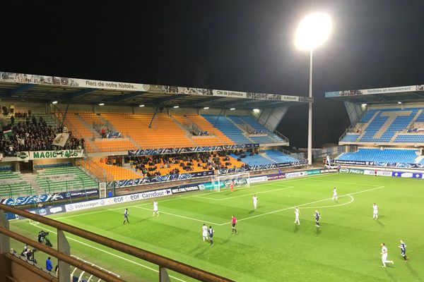 Stade de l'Aube / 24 janvier 2018