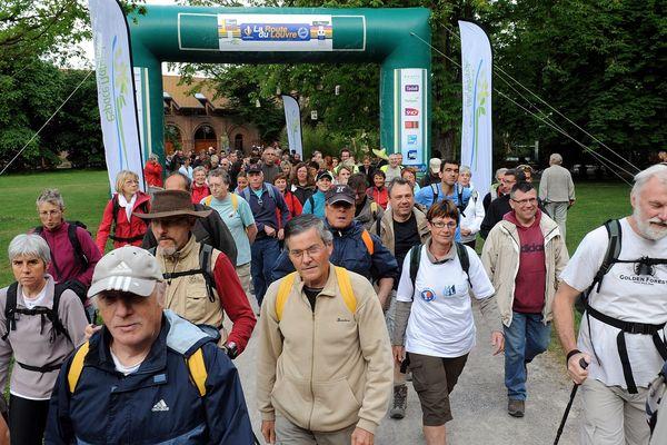 Route du louvre 2011, ambiance sur la randos de 28 KM.