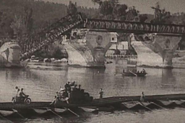Le franchissement de la Seine à Vernon - août 1944