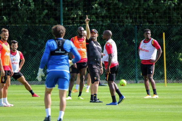 Franck Haise a retrouvé tous ses joueurs à l'entraînement.