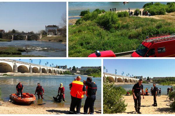 Un réfugié de 31 ans a été emporté par les eaux près du Pont Wilson à Tours (Indre-et-Loire)