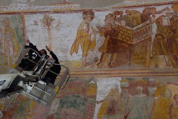 Fresques de l'abbaye de Saint-Savin