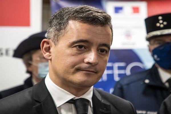 Gérald Darmanin en visite à Limoges lundi 11 janvier