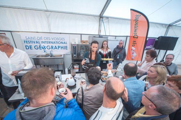 Cette année encore il y aura des démonstrations culinaires. Comme ici à la découverte du thé des Pays Nordiques.