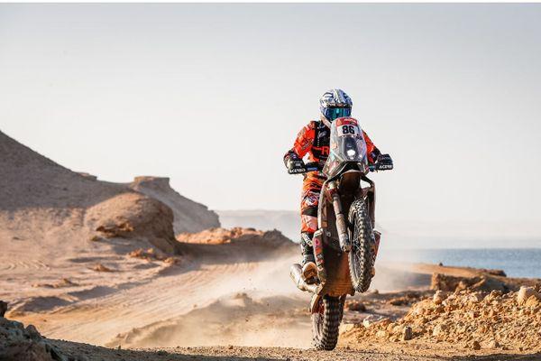Charlie Herbst se classe à la 35ème place pour son troisième Dakar.