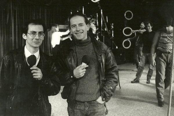 Michel Buzon et Bernard Kudlak du Cirque Plume