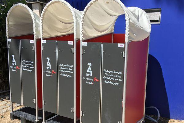 La start-up Madame Pee a installé ses urinoirs féminins à Paris plages.