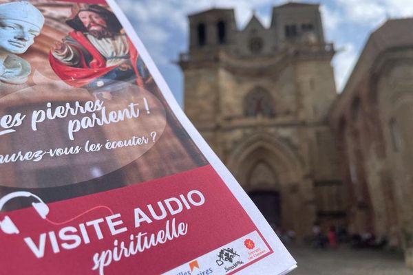 Depuis le samedi 25 septembre 2021, on peut visiter la prieurale de Souvigny avec un smartphone pour une déambulation à visée spirituelle